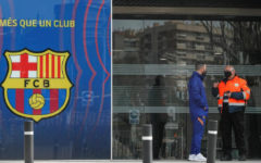 Several arrested during raid at FC Barcelona