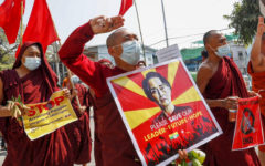 Protesters have resumed protests in Myanmar