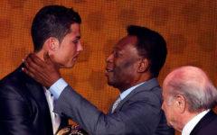 Pele congratulates hat-trick hero Ronaldo for breaking record