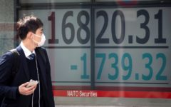 Tokyo stocks opened lower on Monday