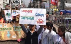 Bangladeshi Youths want real leadership of the US in the climate movement
