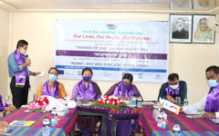 A discussion meeting was held on the occasion of IWD in Bandarban