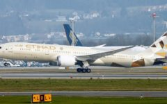Abu Dhabi state carrier Etihad Airways began direct commercial passenger flights from UAE to Israel