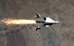 Virgin Galactic space plane conducted the first of three key test flights to enter commercial service