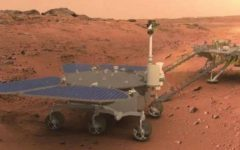 China released the first pictures taken by Zhurong rover on Mars