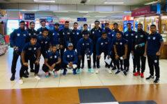 National football team reach Qatar safely