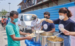 Jacqueline took responsibility to feed 1 lakh people during COVID crisis