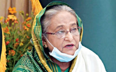 PM Sheikh Hasina condemned the attack on Al-Aqsa Mosque