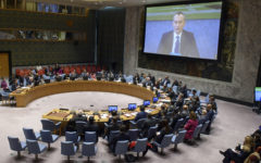 Emergency meeting of the Security Council to resolve the Palestinian-Israeli crisis