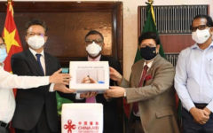 China hands over 5 lakh doses of vaccine as gift
