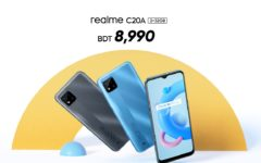 realme C20A launched in Bangladesh