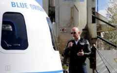 Mystery bidder paid $28m for a seat on Amazon founder Jeff Bezos's first crewed spaceflight