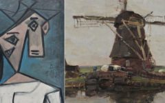 A painting by Pablo Picasso stolen 9 years ago, found in Athens