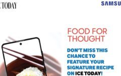 Samsung Bangladesh and ICE Today magazine introduced 'FOOD FOR THOUGHT'