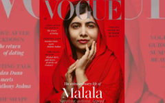 Malala was seen on the cover of Vogue