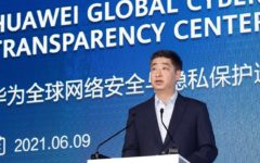 Huawei opened its largest Global Cyber Security and Privacy Protection Transparency Center in Dongguan, China