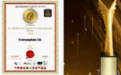 """Grameenphone receives """"Best Organization for Workplace and People Development"""" award at ALA 2021"""