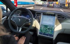 New software update for Tesla cars appears to include monitoring of drivers through camera