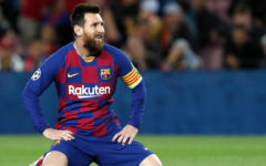 Barcelona star agrees to stay on reduced wages