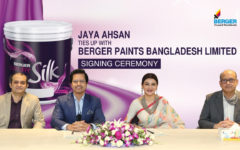 Jaya Ahsan to be Berger's new face for its Luxury Silk Product