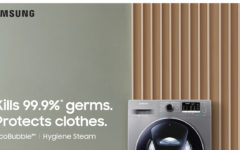 Samsung redefines laundry in times of COVID-19