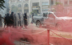 Tunisia police storm Al Jazeera office in Tunis