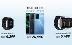 realme launches affordable 5G phone 'realme 8 5G' along with smartwatch