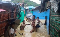 Thousands displaced as floods hit Cox's Bazar Rohingya camps