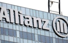 Shares of Allianz declined 7% on Monday