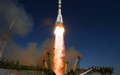 Russian Soyuz rocket blasted into space carrying 34 new satellites from British operator Oneweb