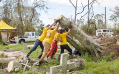 Scientology volunteers carry on with their hurricane Ida disaster relief