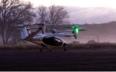 NASA starts testing electric air taxi in California