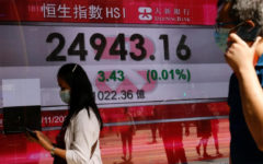 Hong Kong shares started on Tuesday morning on a quiet note