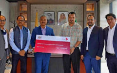 bKash donates BDT 10 lakh to BGMEA health fund for garment workers