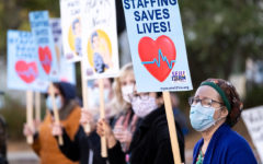 Thousands of US hospital workers vote to strike