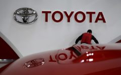 Toyota outsold General Motors Co in the United States for the first nine months of 2021