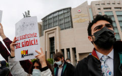 Turkey summons 10 ambassadors over Kavala release call