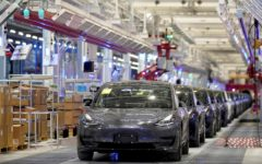 Tesla Inc delivered a record electric cars in Q3